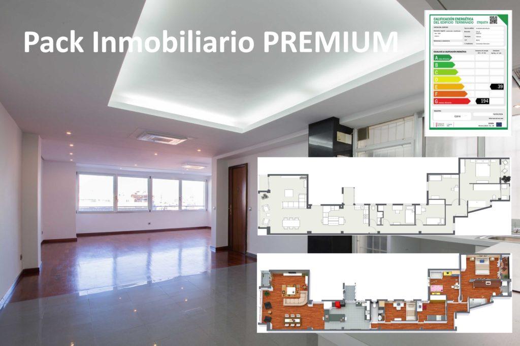 Pack Inmobiliario Premium - Foto Plano 2d 3d Certificado - DestacaTuCasa