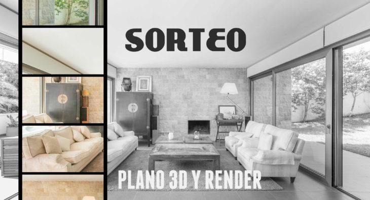 Sorteo Plano 3D y Render