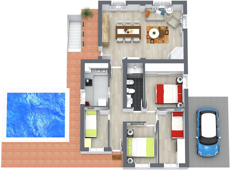 Planos 2d 3d Y Renders Fotograf A Inmobiliaria Para
