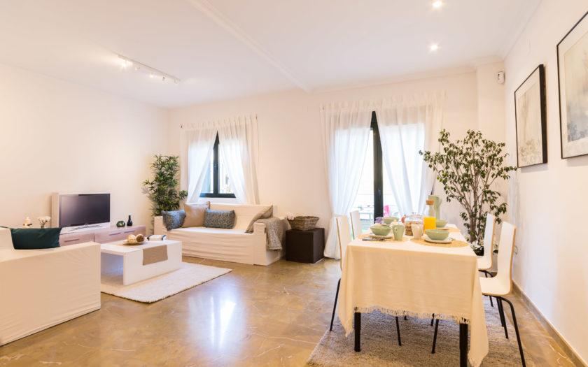 Fotografia Inmobiliaria vivienda con Home Staging en Valencia - DestacaTuCasa